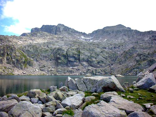Gran Tuc de Colomers and Pic Blanc