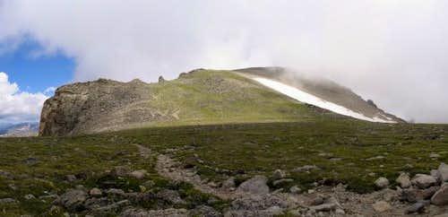 Pawnee Peak from Pawnee Pass