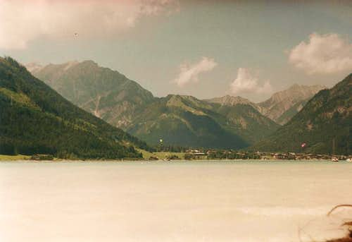 Achensee towards Pertisau