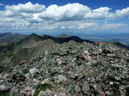 Colorado Horizon From Kit Carson Peak