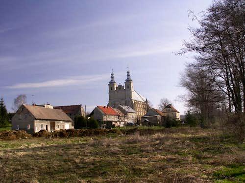 Baroque church...