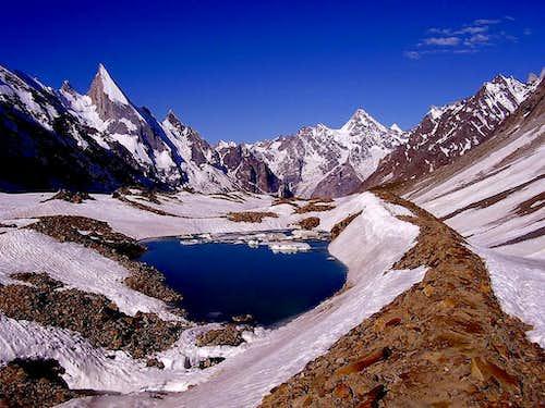 Gondoghoro glacier, pakistan.