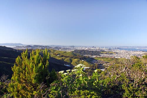 SF from San Bruno Mtn.