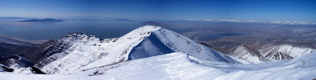 North from Farnsworth Peak