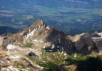 Mt. Sneffels aerial view