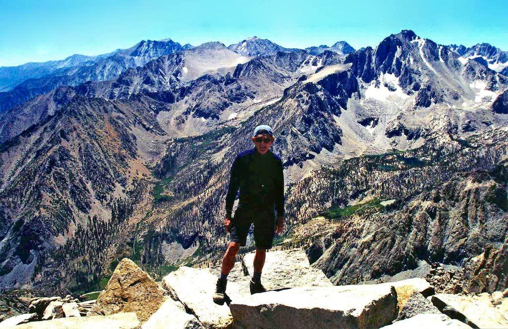 South from Kearsarge Peak