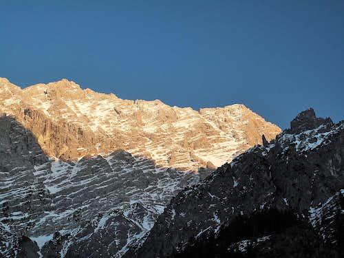 Watzmann main and south summits
