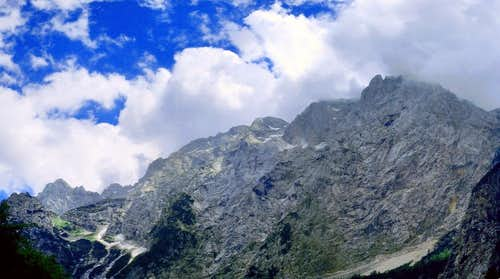 Ojstrica-Planjava, panoramic  view