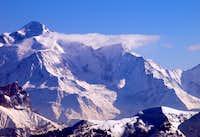 Mont Blanc, Aiguille et Dome du Gouter, Aiguille de Bionnassay.