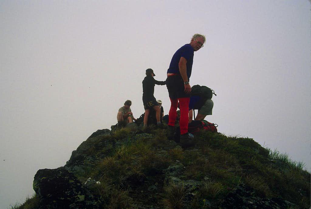 The Spiny Summit of East Peak
