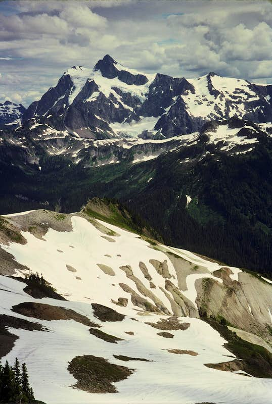 Mount Shuksan from Coleman Pinnacle