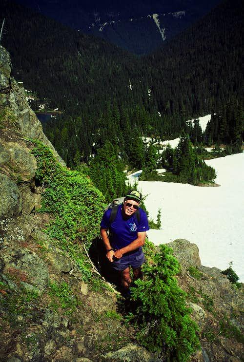 Descending from Barrier Peak