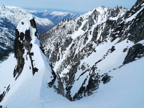 Triple Couloirs in Perfect Condition