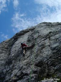 Climbing on Oszoly