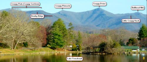 Great Craggy Mountains