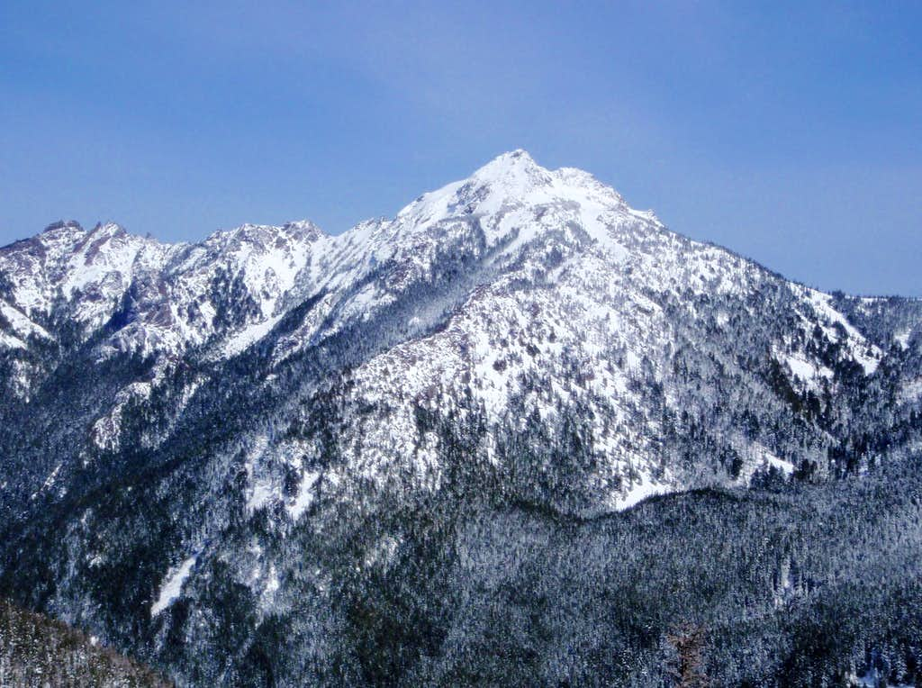 Mount Angeles West Face