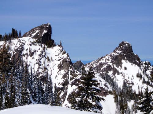 Unicorn Peak and Unicorn\'s Horn