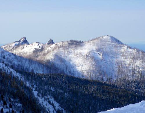 Unicorn Peak, Unicon's Horn, and Griff Peak