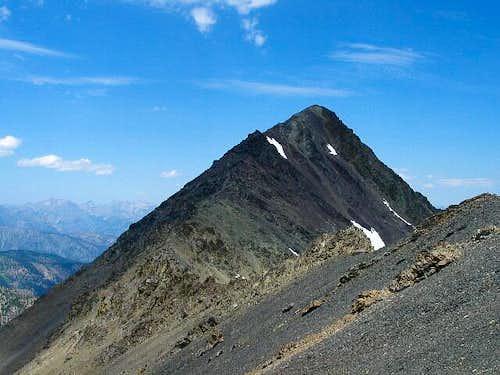 The summit ridge of No....