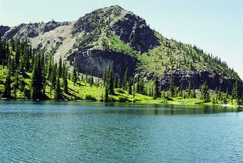 Crystal Peak from Upper Crystal Lake