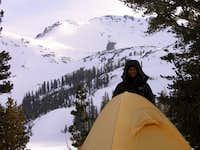 Camp below Dicks Peak