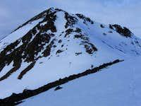 Snow Face en Route to Dicks Peak