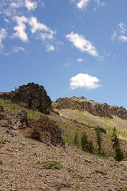 Castle Peak west turret from...