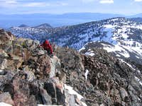 Rocky Ridge on Dicks Peak