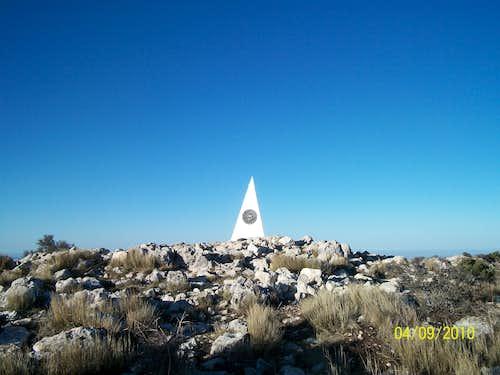 Guadalupe Peak summit