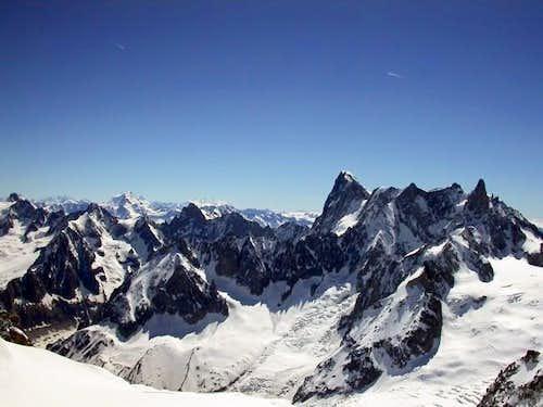 Les Grandes Jorasses (4206 m.)