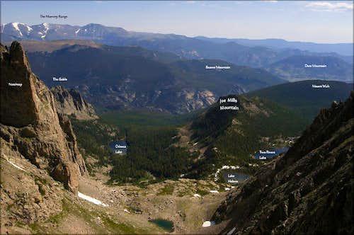 Joe Mills Mountain from Ptarmigan Pass