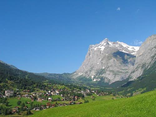 Wetterhorn and Grindelwald