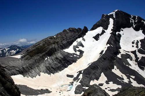 Monte Perdido seen while...