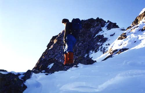 Emilius\'s in the Summit ... Before the AVALANCHE 1980