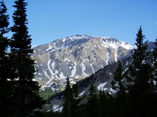 Mount Yale, taken from near...