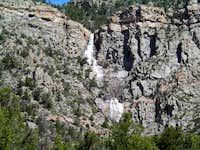 Unaweep Waterfall, West