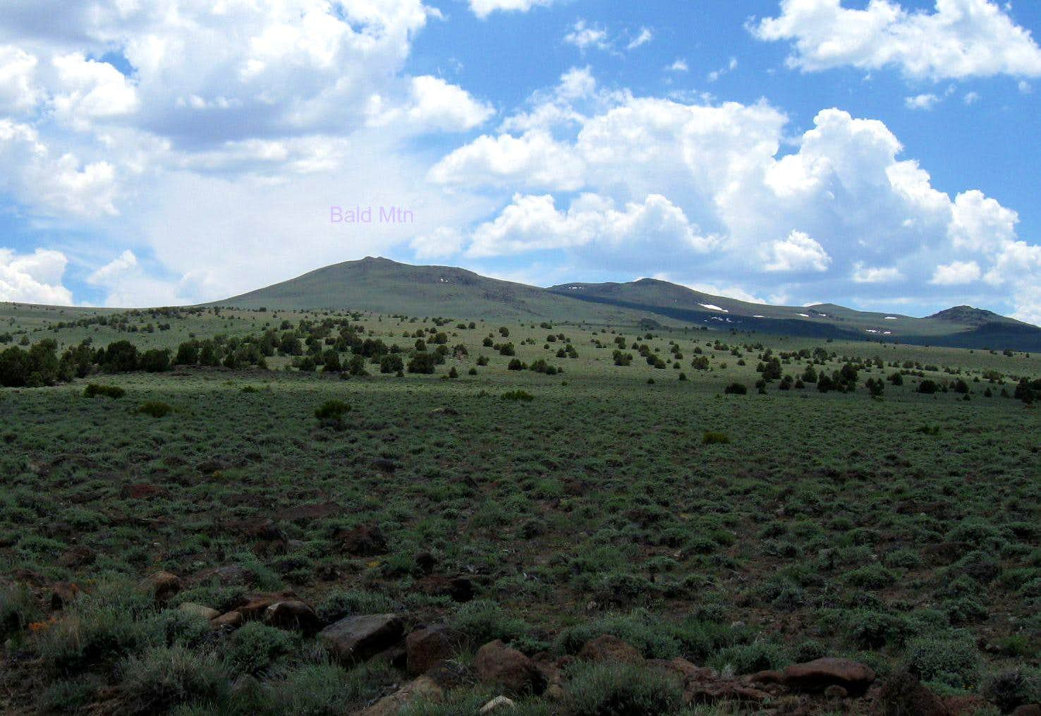 Bald Mountain (NV) Lyon County