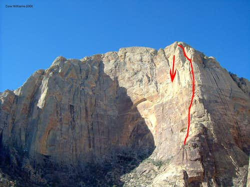 Bird Hunter Buttress, 5.9, 12 Pitches