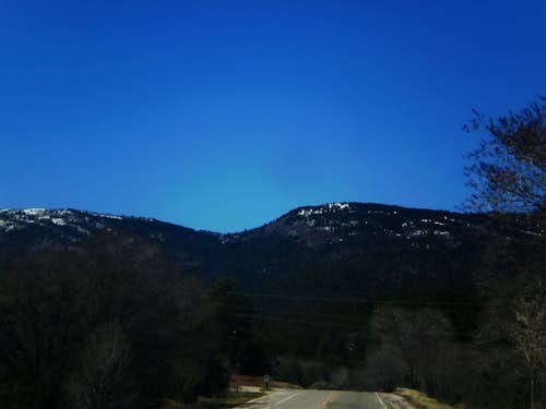 Sandias from the east