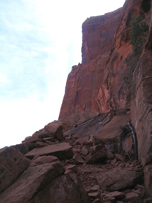 The Upper Parts of the Trail