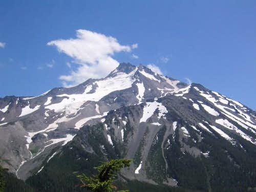 View of Mt Jefferson from the...