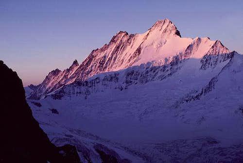 Sunrise on the Schreckhorn,...