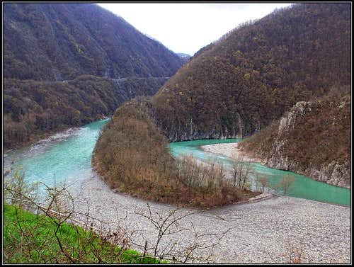 San Salvatore Trebbia river bend