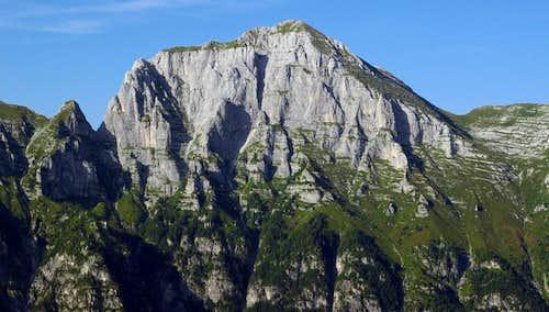 Monte Cimone - south face