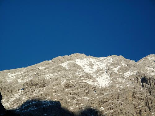 The Hocheck (2651m) in afternoon light