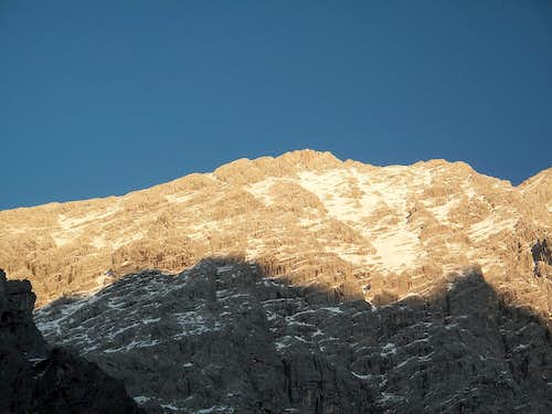 The Hocheck (2651m) in evening light