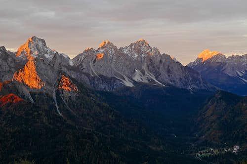 View from Casera Monte dei Buoi
