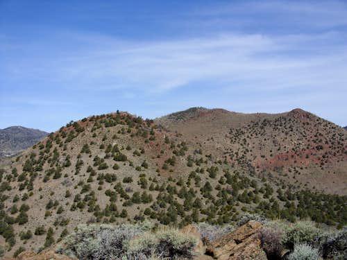 Flowery Peak from the summit of Sugarloaf