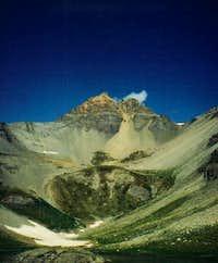 Vermilion Peak from lower Ice...
