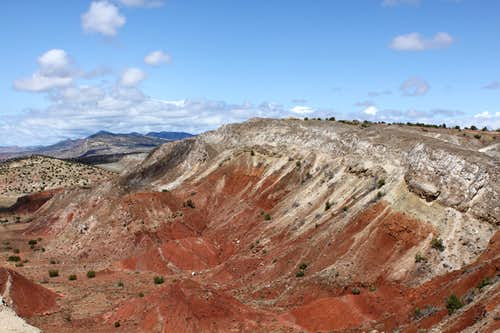 red soil below White Mesa